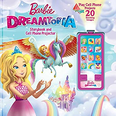 Barbie Dreamtopia: Storybook and Cell Phone Projector (Movie Theater Storybook)