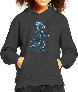 Cloud City 7 Gogeta Blue Dragon Ball Z Kid's Hooded Sweatshirt