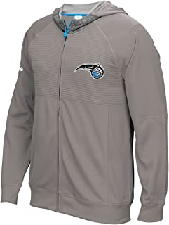 adidas Orlando Magic 2016 NBA Men's On-Court Pre-Game Full Zip Hooded Jacket