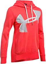 Under Armour Women's UA Favorite Fleece Exploded Logo Hoodie
