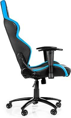 AK Racing Juegos para Silla, Funda de Piel sintética, Negro/Azul P,