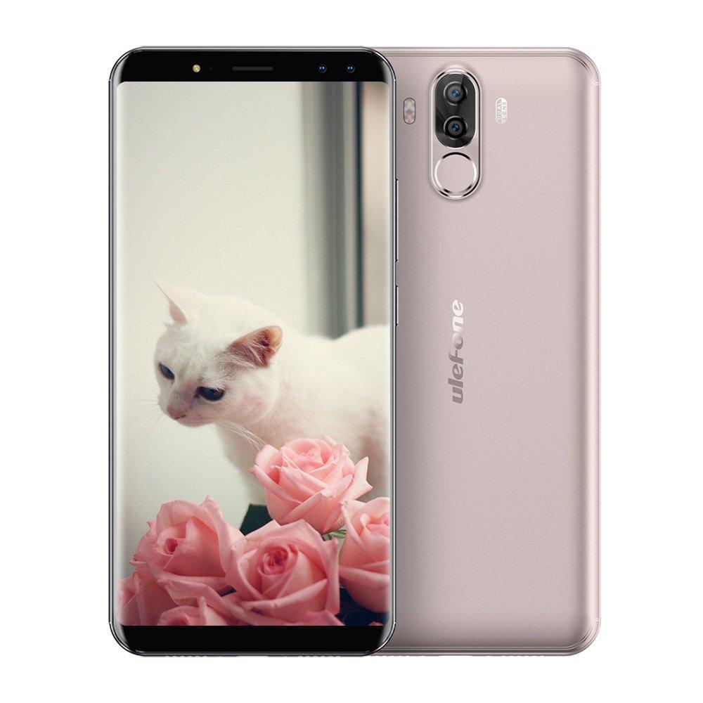 Ulefone Power 3 Smartphone Libre Barato 6GB RAM + 64GB ROM 4G Android 7.1 Pantalla 6.0 Pulgadas Cámara Cuádruple Gran Batería 6080mAh MTK6763 Octa Core 2.0GHz Face ID + Huella Digital: Amazon.es: Electrónica