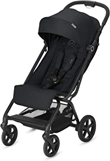 Carrito de viaje ligero y compacto para bebé 2019. Plegable con una sola mano, cochecito para paraguas, tela de lino, reclinable hasta 170°. El bebé