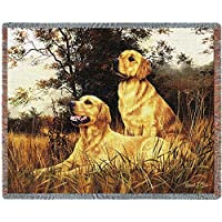 Pure Country 1128-T Golden Retriever Pet Blanket, Various Blended Colorways, 53 by 70-Inch by Pure Country