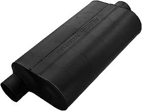 Flowmaster 53056 Super 50 Muffler - 3.00 Offset IN / 3.00 Center OUT - Moderate Sound