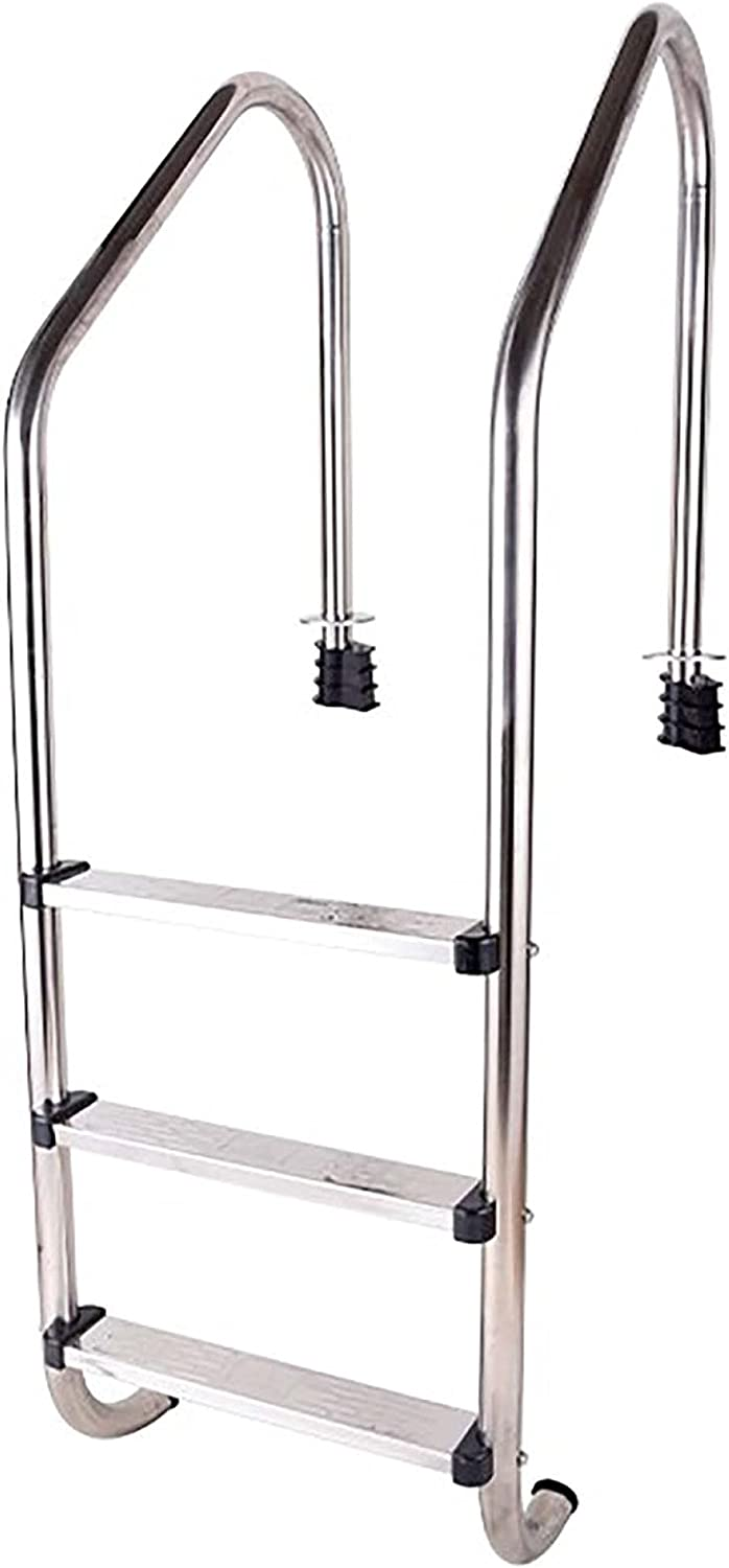 Pool Ladder Stainless Max 80% OFF Steel Swimming Rail Tube Wall Brand Cheap Sale Venue Grab