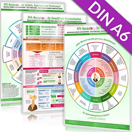 [3er Set] GFK-Navigator Pocket Trilogie (DINA6) (2020) als Ergänzung zur DINA4 Original-Ausgabe - speziell für unterwegs!: mit dem GFK-Navigator für ... DINA6, laminiert Pocket Edition)