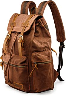 canvas backpack on sale