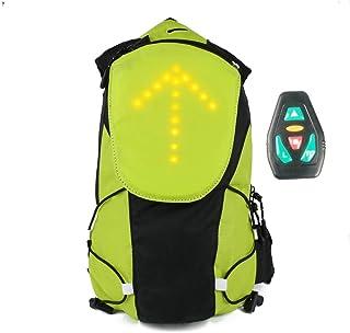 Bicicleta impermeable Codream® con mochila trampeado hombro ultraligeros deporte luces LED que acampa al aire libre caballo de hidratación bolsa de agua viaje montañismo