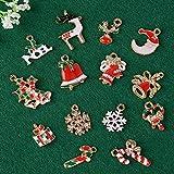 30 Stk. Mini Anhänger Weihnachten Deko für Weihnachtsgeschenke DIY Handwerk Bonboniere Hochzeit Geschenkbox Gastgeschenk usw. - 4