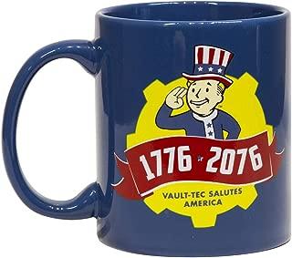 Fallout Collectibles   Fallout 76 Tricentennial Ceramic Coffee Mug   11 oz