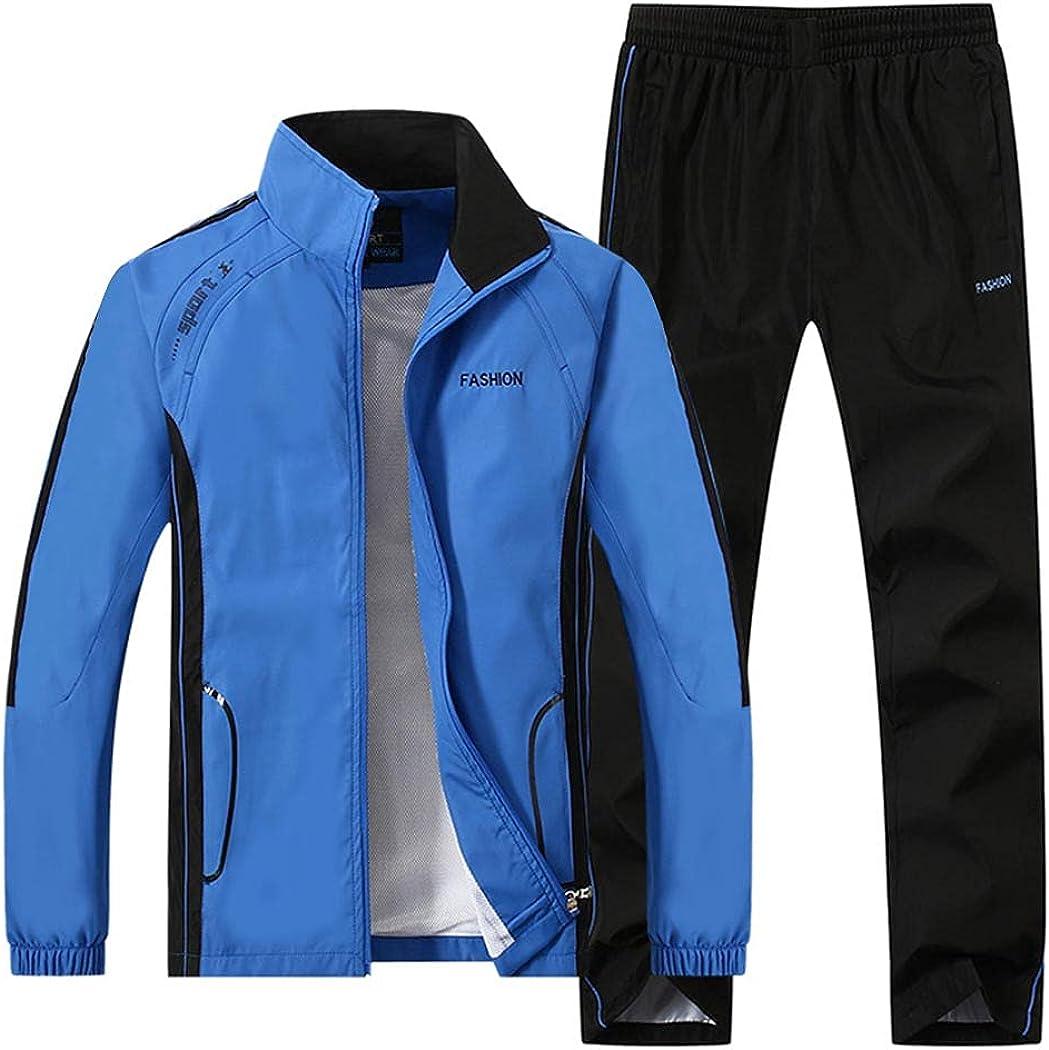 Sun Lorence Men's Nylon Ranking TOP14 Full-Zip Wholesale Mesh Active Sweat F Suit Jogger