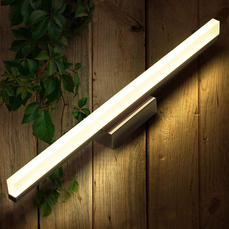 Mariisay Wandleuchte Mirrorne Dresser Mirrorthe Lampe Beleuchtung Das Innen Waschbecken Die Beleuchtung Des Lichts (Farbe   WarmWeiß-16W-120Cm-Größe)