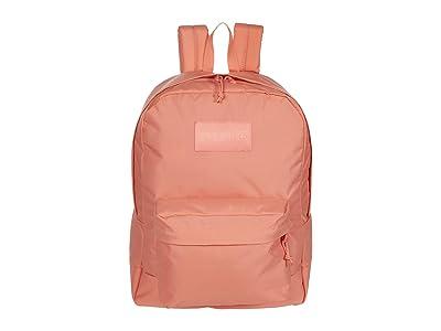 JanSport Mono Superbreak(r) (Crabapple) Backpack Bags