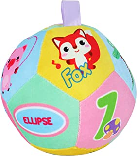 LuDa Kids Baby Infant Early Educational Ball Toy Intelligence Development Toys - Multicolor, B
