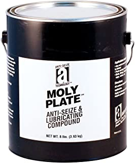 Moly Plate 37030 Anti-Seize Compound with Molydbenum Disulfide in a Non Melting Carrier, 1 Gallons, Black, Paste