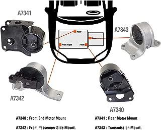 DNJ MMK638 Complete Engine Motor & Transmission Mount Kit for: 2002-2006, Nissan/Altima, 2.5L, Auto Trans