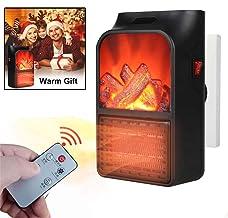 Acyon Mini Heater Estufa Eléctrica Portátil de Bajo Consumo, Heater con Enchufe Eléctrico, Ajustable de 15 a 32 °,Protección del Sobrecalentamiento Ideal para Hogar Oficina BañO