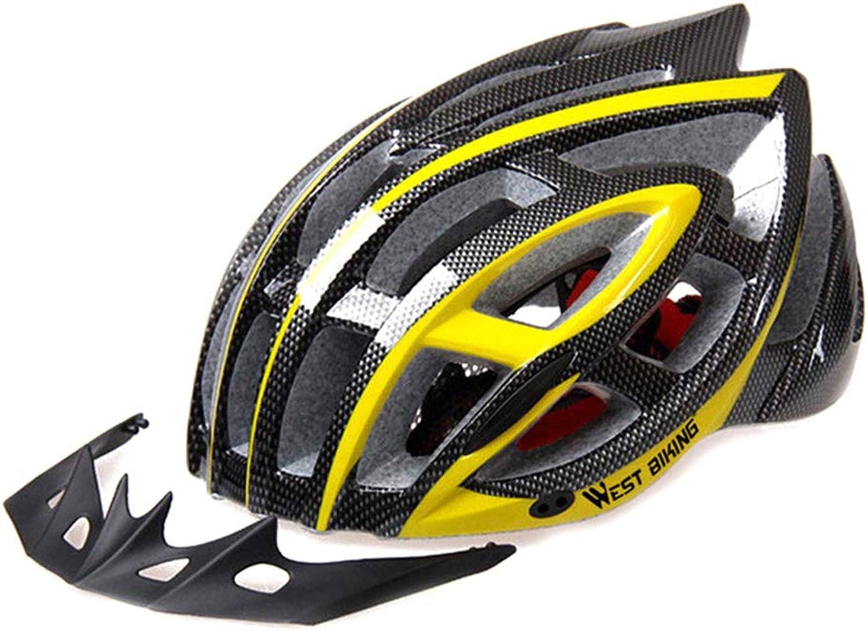 Biking Bicycle Helmet Adult Lightweight Helmet for Men Women Cycling Helmet Equipped with Visor Pad Helmet