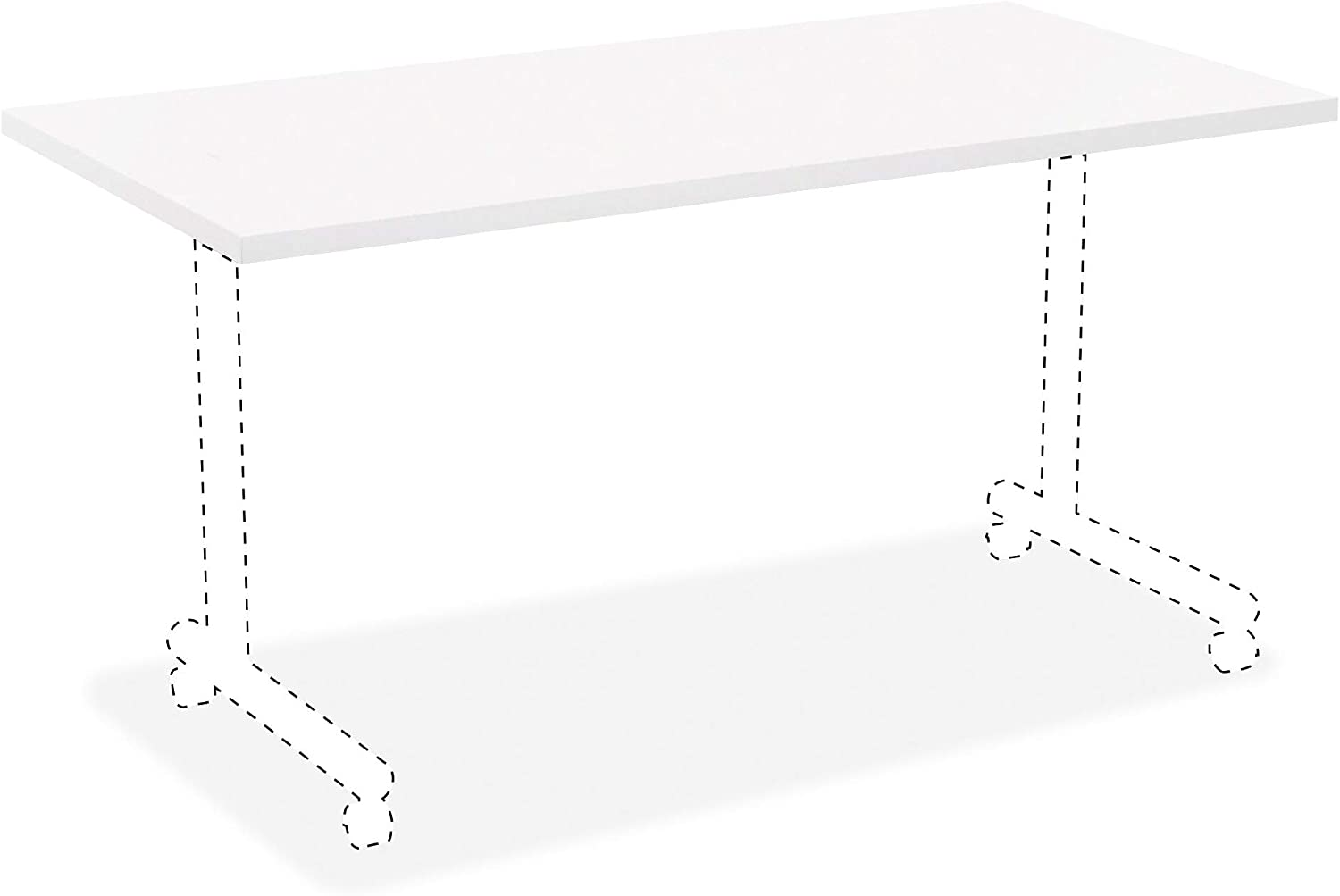 Lorell Japan Maker New Invent Table Top Thermofused TFL White Laminate Lamina Limited Special Price