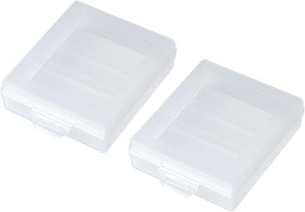 サンワサプライ 電池ケース(単3形用2個セット・クリア) DG-BT3CLN