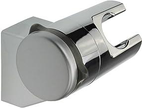 Soporte de ducha sin agujeros ángulo de inclinación ajustable ABS cromado Mantiene Estable y fijo | Soporte de pared para ducha de | Soporte para ducha de mano