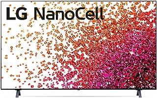 "2021 Smart TV LG 50"" 4K NanoCell 50NANO75 3x HDMI 2.0 Inteligência Artificial ThinQAI Smart Magic Google Alexa"
