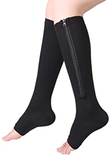 Bcurb Zipper Compression Socks