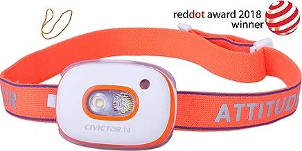 Super Bright Running Headlamp Rechargeable Headlamp LED Headlamp Rechargeable Battery USB Lightweight - Mini Small Jogging Trail Camping Runners Headlight 350 Lumens Reading Walk Head Flashlight Light