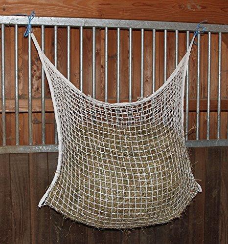 Kerbl 321299 Heunetz, 120 x 90 cm, weiß, Maschenweite: 3 x 3 cm - 2