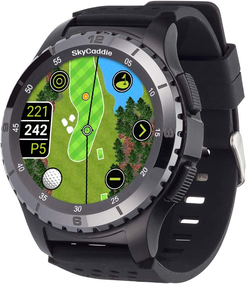 SkyCaddie LX5C Golf GPS Watch Black Ceramic Bezel Large-scale sale with New Free Shipping