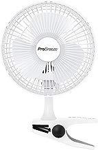 Pro Breeze™ Mini Ventilateur à Pince - 2 Vitesses, 15 cm - Petit, Portable, Silencieux - pour Maison, Table, Bureau