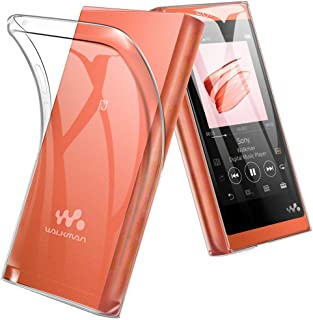 A-VIDET Sony Walkman NW-A50 ケース NW-A57 / NW-A56HN / NW-A55WI / NW-A55HN / NW-A55 ケース 衝撃吸収バンパー アンチスクラッチ クリスタル ソフト TPU素材製 ケース (クリア)