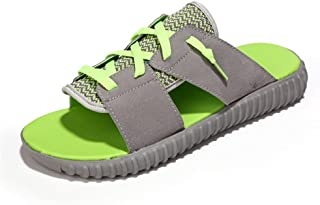 LFSP Classic Popular Sandals Beach Shoes Sandals for Men's Summer Outdoor Classic Fashion Non-Slip Flat Heel Slippers Leisure Lightweight Breathable Holiday Sandal Slipper Flats Shoes