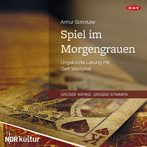 Spiel im Morgengrauen                   By:                                                                                                                                 Arthur Schnitzler                               Narrated by:                                                                                                                                 Gert Westphal                      Length: 3 hrs and 23 mins     Not rated yet     Overall 0.0