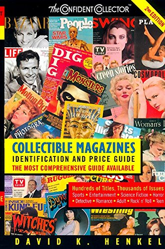 Top 10 best selling list for collectables magazine