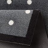 HANSE Home Fußmatte Schmutzfangmatte, Polyamid, Grau, 40x60 cm - 2