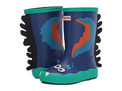 Hunter Kids First Sea Monster Sid Character Boots (Toddler/Little Kid) (Cuttle Blue) Kids Shoes