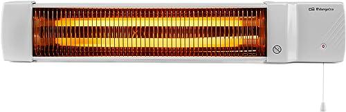 Orbegozo BB 5002 - Estufa de cuarzo para baño, selección de potencias mediante tirador, emisión instantánea de calor,...