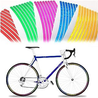 RABONO Bicycle Wheel Reflective Stickers Warning Reflective Refection Strip