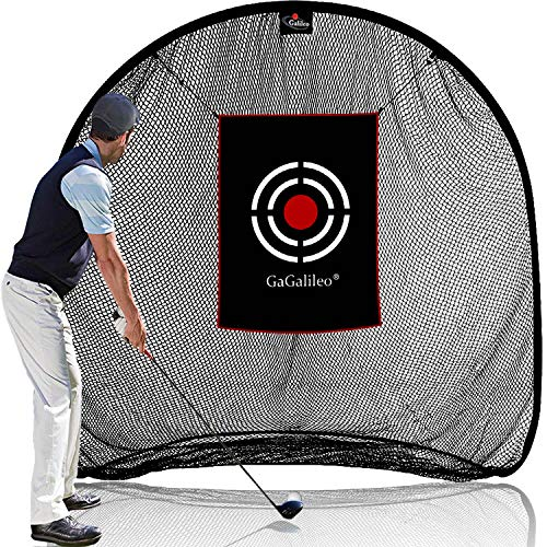 Golf Net Golf Hitting Nets Golf Nets for Backyard Driving 7x7x4FT Golf Practice Nets for Indoor Use with Carry Bag and Target