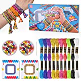 Oligo Regalos para Niños Niñas de 7 8 9 Años Niña, Niños Kits de Manualidades Juguetes Amistad para Niños de 6 7 8 Años Niñas Niños Niños Bricolaje Arte Tejido Pulsera