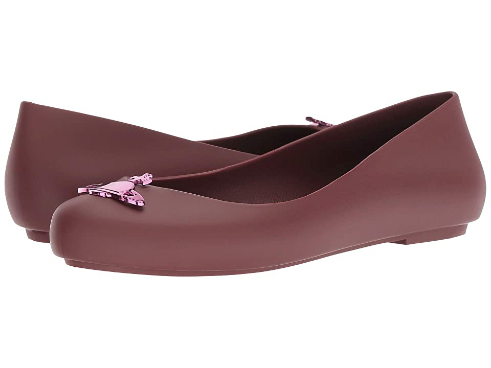 Melissa Shoes VWA + Space Love III (Bordeaux Dark) Women