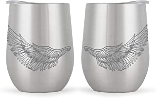 Best angel wing wine glass Reviews