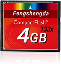 FengShengDa 4G Extreme Compact Flash Memory Card Speed Up To 80MB/s Frustration-Free Packaging SDCFHS-4G-AFFP