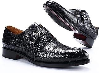 Chaussures en cuir d'affaires pour hommes,Capitaine en cuir véritable haut de gamme Jack Chaussures Chaussures de robe de ...