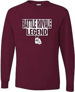 Adult Battle Royale Legend Long Sleeve T-Shirt