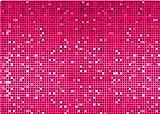 Speedlink Lares XL Notebook Cover 18,4 Zoll/46,7 cm (Aufkleber/Schutzfolie, zuschneidbar, 42x30cm, Pink Glitter)