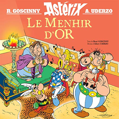 Couverture de Le Menhir d'or