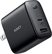 AUKEY Swift USB C Charger, 30W 2-Port Fast Charger Compatible with iPhone 12/12 Mini/12 Pro Max, USB C Wall Charger with F...